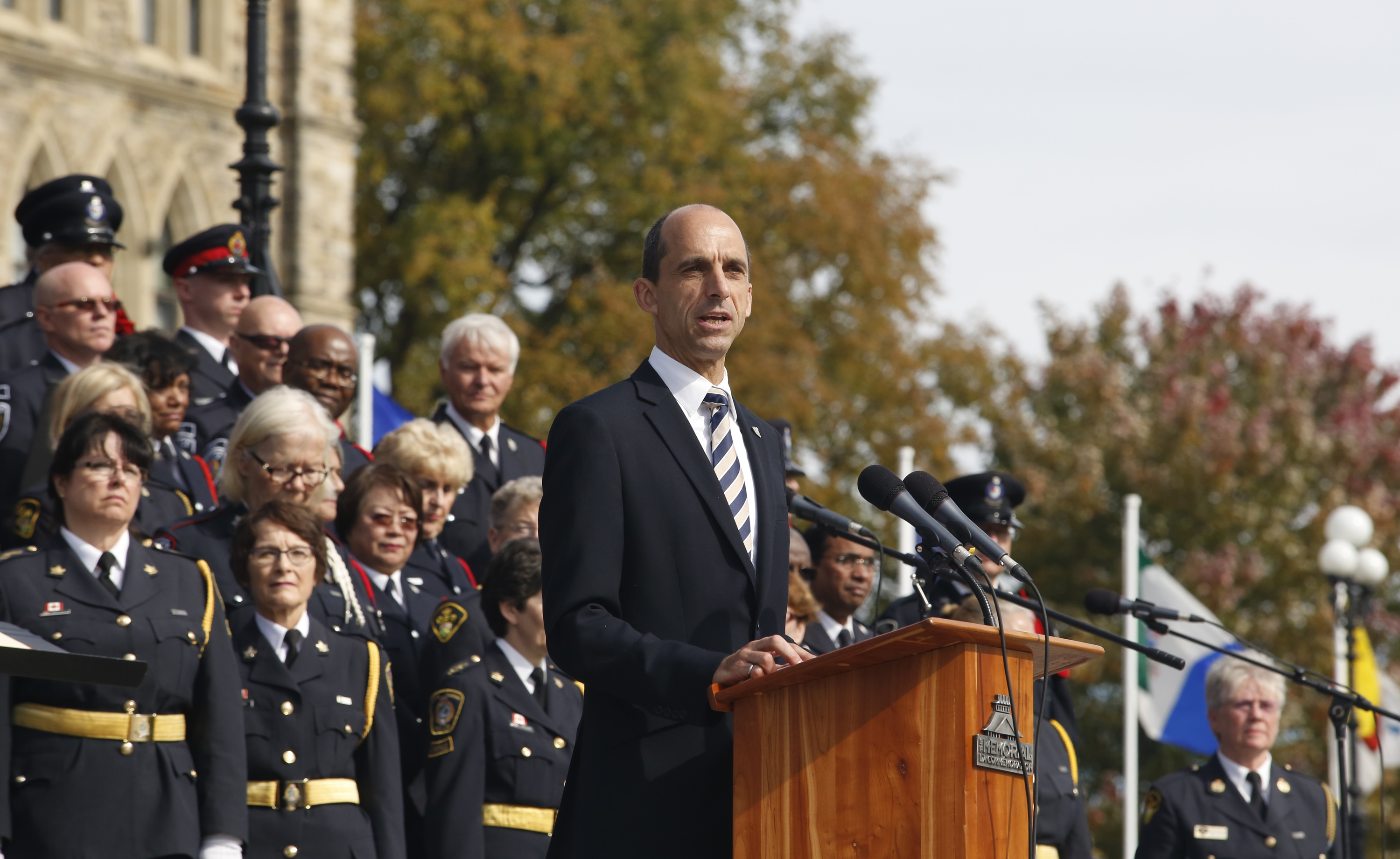The Honourable Steven Blaney, Minister of Public Safety and Emergency Preparedness, issued the following statement today to mark the Canadian Police and Peace Officers' 37th Annual Memorial Service.