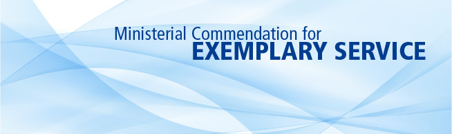 The Honourable Steven Blaney, Canada's Minister of Public Safety and Emergency Preparedness, today launched the inaugural call for applications for the Ministerial Commendation for Exemplary Service.