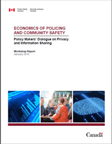 Economics of Policing and Community Safety - Policy Makers\' Dialogue ...
