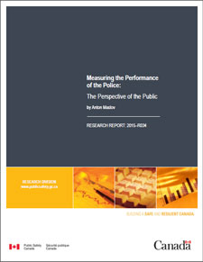 Measuring the Performance of the Police: The Perspective of