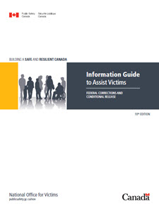 Information Guide To Assist Victims Federal Corrections