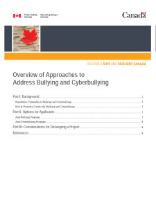 research paper on bullying and cyberbullying