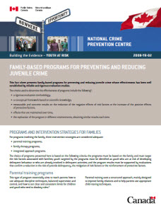 a discussion of the ways to reduce juvenile crimes How to reduce juvenile crime - a few  the two main areas of discussion include juvenile's rights at time of  although juvenile arrests for violent crimes.