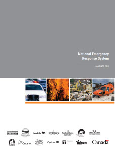 National Emergency Response System