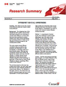 risk assessment internet sex offenders in Ann Arbor