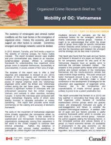 organized crime research brief no mobility of oc viet se