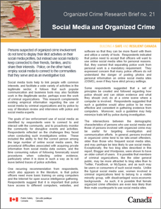 social organized crime papre Custom social organized crime perspective essay social institution is an organization or group that has a specific task or goal and performs it by convincing people in the community to take part and help in achieving this aim.