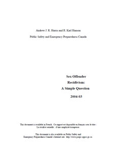 Sexual offender safety plan form